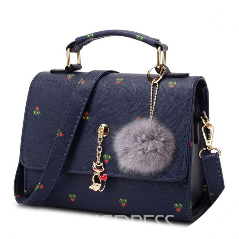 Ericdress Trendy Printing Exquisite Pendant Crossbody Bag