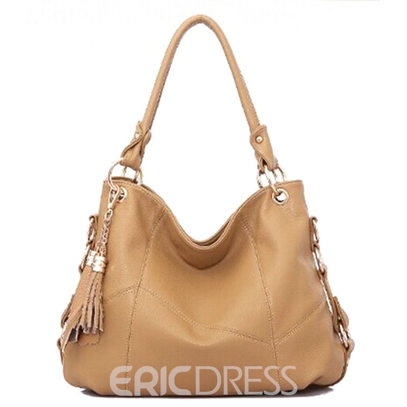 Ericdress Occident Style Tassel Patchwork Handbag