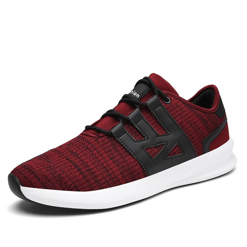 Ericdress Comfy Mesh Color Block Mens Athletic Shoes 12955651
