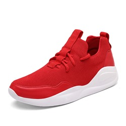 Ericdress Plain Patchwork Low-Cut Mens Athletic Shoes