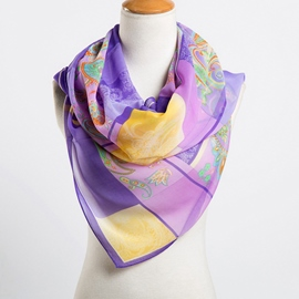 Ericdress Women's Ultra Violet Scarf