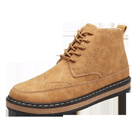 Ericdress Fashionable Plain Ankle Men's Martin Boots