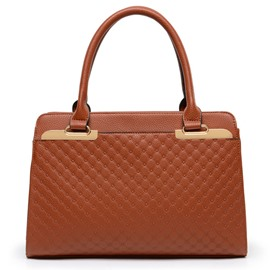 Ericdress Vogue Patchwork PU Women Handbag