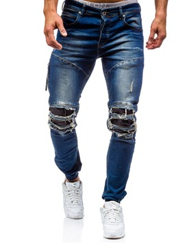 Ericdress Holes Vogue Casual Men's Jeans