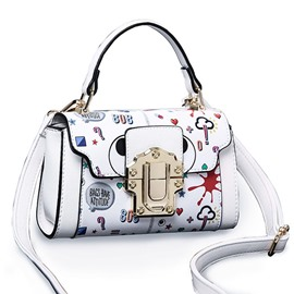 Ericdress Trendy Patchwork Latch Women Handbag