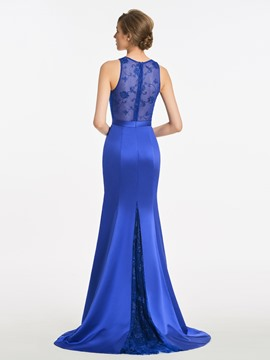 Ericdress Mermaid Lace Long Bridesmaid Dress