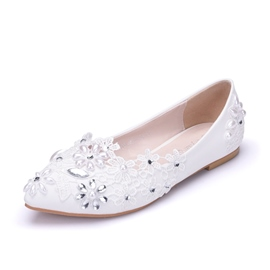 Ericdress Comfortable Rhinestone Low-Cut Wedding Shoes