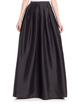 Ericdress High-Waist Floor-Length Pleated Skirts