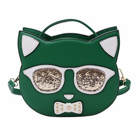 Ericdress Personality Cat Design Crossbody Bag