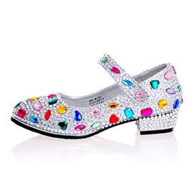 Ericdress Luxurious Rhinestone Low-Cut Wedding Shoes