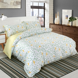 Cotton Four-Piece Set Duvet Cover Bedding Set Hand Wash