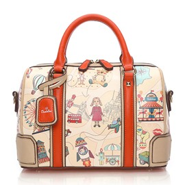 Ericdress Pillow Type Cartoon Printing Women Handbag