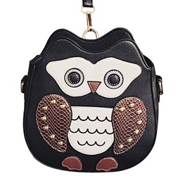 Ericdress Lovely Cartoon Owl Design Crossbody Bag