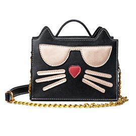 Ericdress Lovely Cartoon Cat Pattern Crossbody Bag