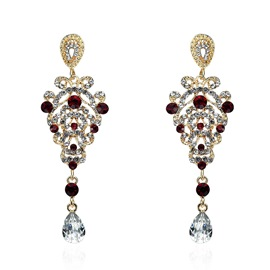 Ericdress Retro Style Fully Jewelled Wedding Accessories Earring for Women