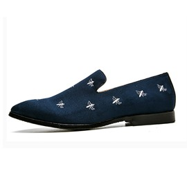 Ericdress Embroidery Animal Slip-On Men's Loafers