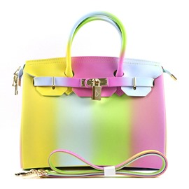 Ericdress Terrific Color Jelly Design Matting Handbag