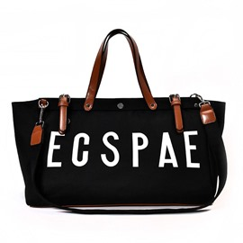 Ericdress Vogue Letters Design Canvas Handbag