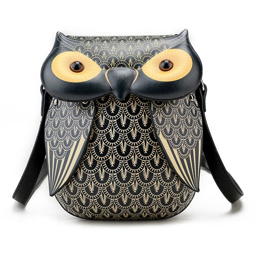 Ericdress 3D Owl Pattern Printing Crossbody Bag