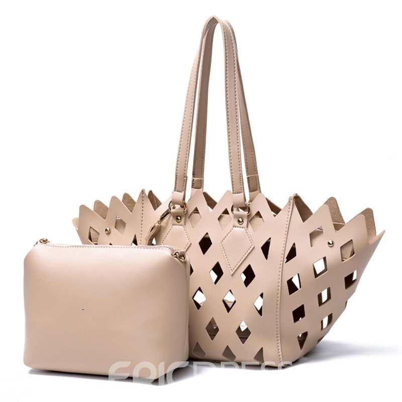 Ericdress Occident Style Hollow Carved Design Handbag 12957128