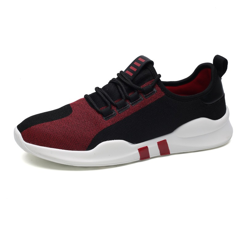 Ericdress Fashion Mesh Color Block Mens Athletic Shoes