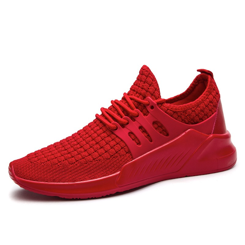 Ericdress Mesh Plain Round Toe Low-Cut Men's Athletic Shoes