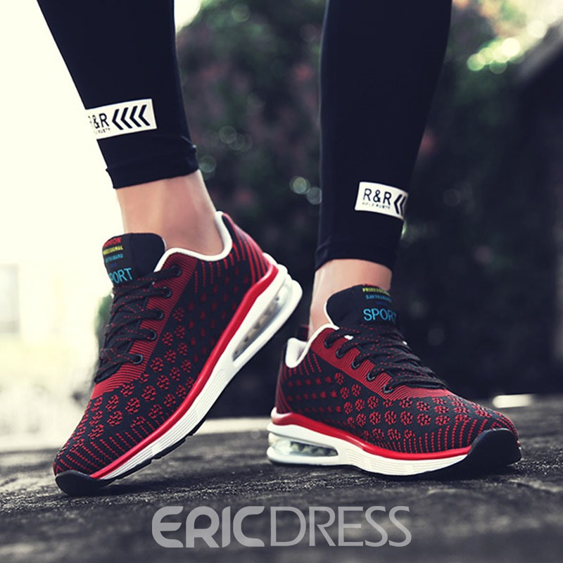 Ericdress Breathable Color Block Men's Athletic Shoes
