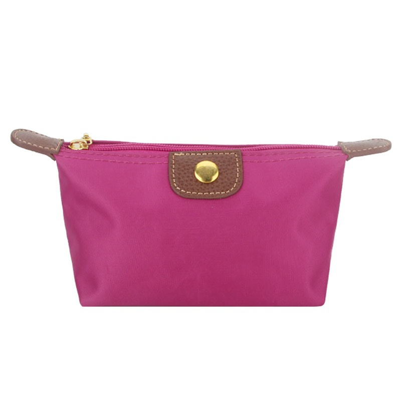 Ericdress Portable Solid Color Mini Cosmetic Bag