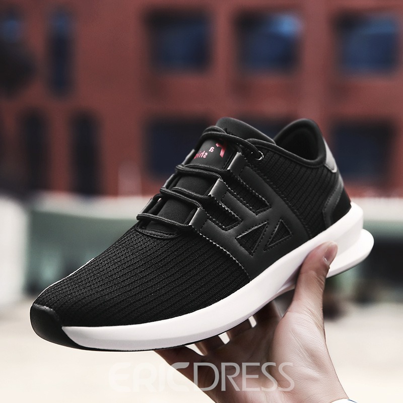 Ericdress Comfy Mesh Color Block Men's Athletic Shoes