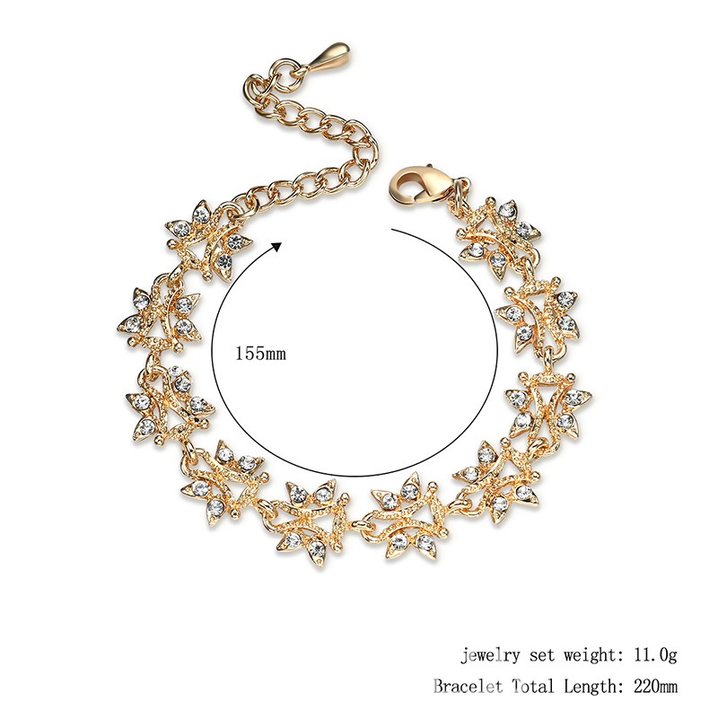 Ericdress Exquisite Alloy Diamante Star Bracelet