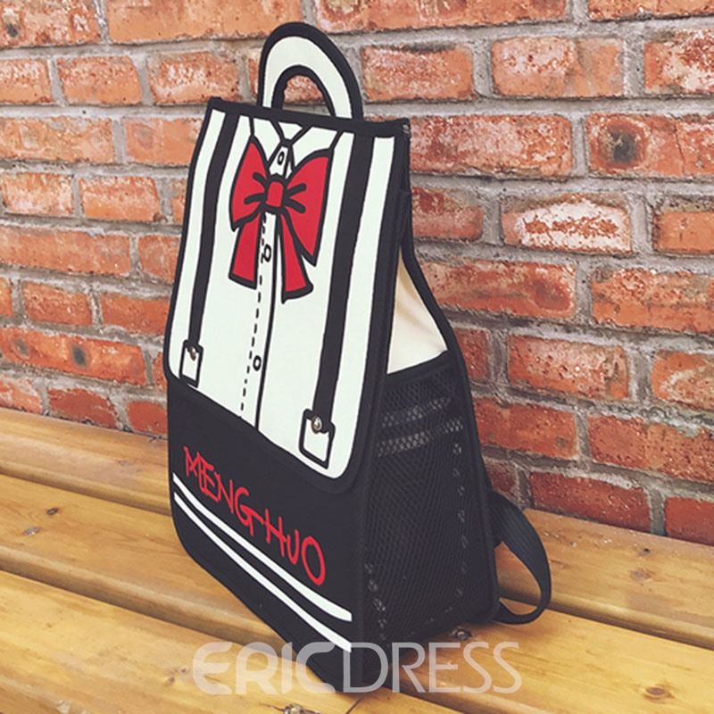 Ericdress 3D Comic Design Women Backpack