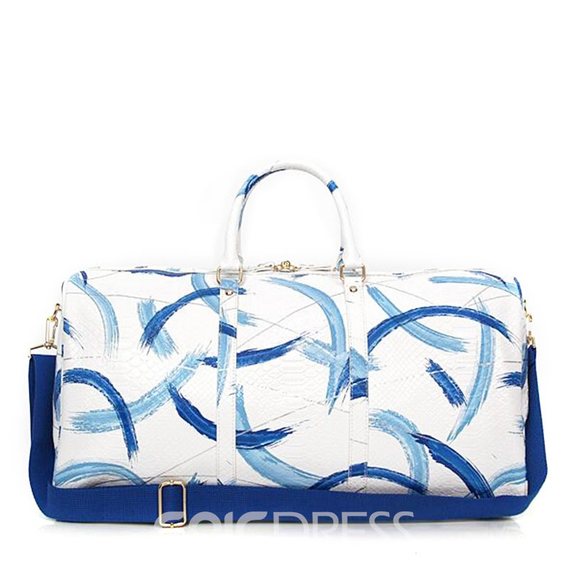 Ericdress Serpentine Pattern Huge Space Women Handbag