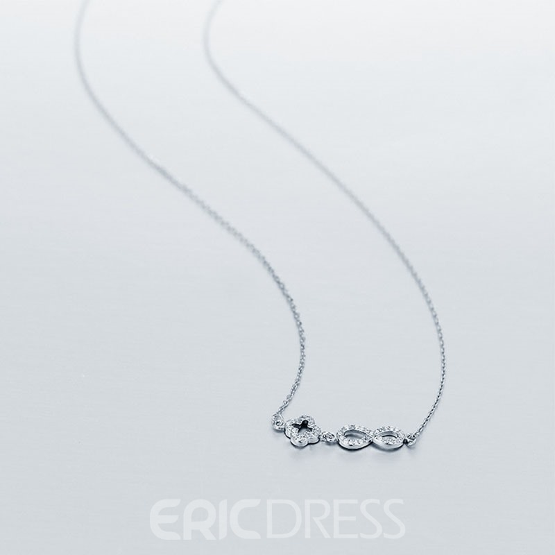 MarkChic Shining Classic Elements Diamante OL Necklace