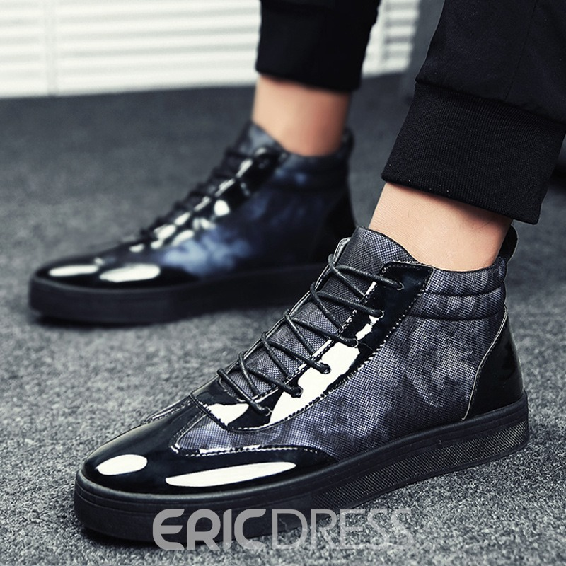 Ericdress Camouflage Patchwork High-Cut Men's Athletic Shoes