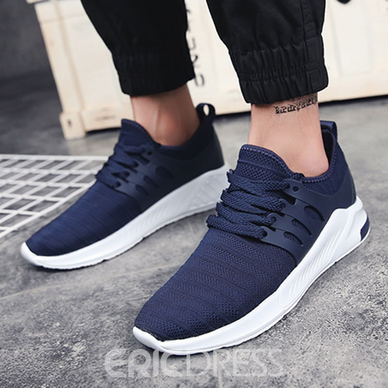Ericdress Casual Mesh Patchwork Low-Cut Men's Shoes