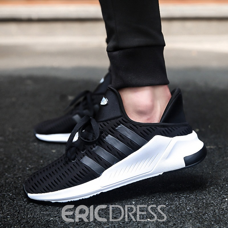 Ericdress Mesh Stripe Patchwork Plain Men's Athletic Shoes