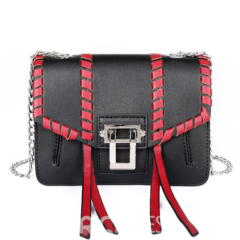 Ericdress Braid Latch Design Women Crossbody Bag