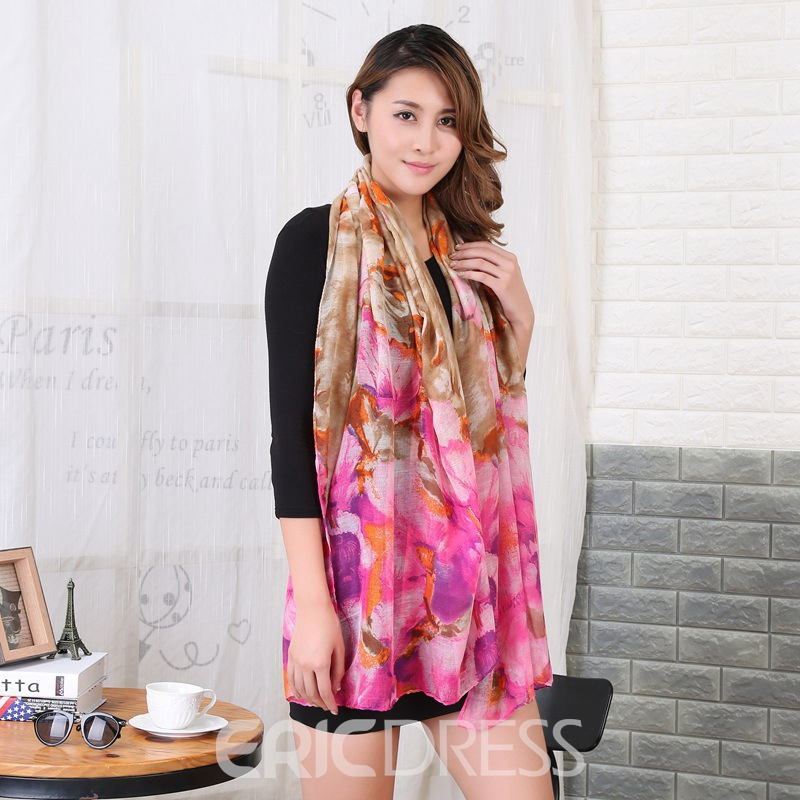Ericdress Splendid Cozy High Quality Print Scarf