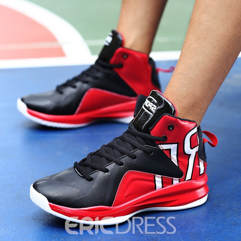 Ericdress New Style Color Block High-Cut Men's Athletic Shoes