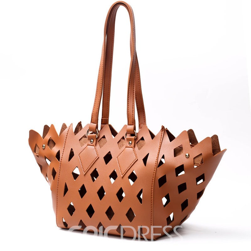Ericdress Occident Style Hollow Carved Design Handbag