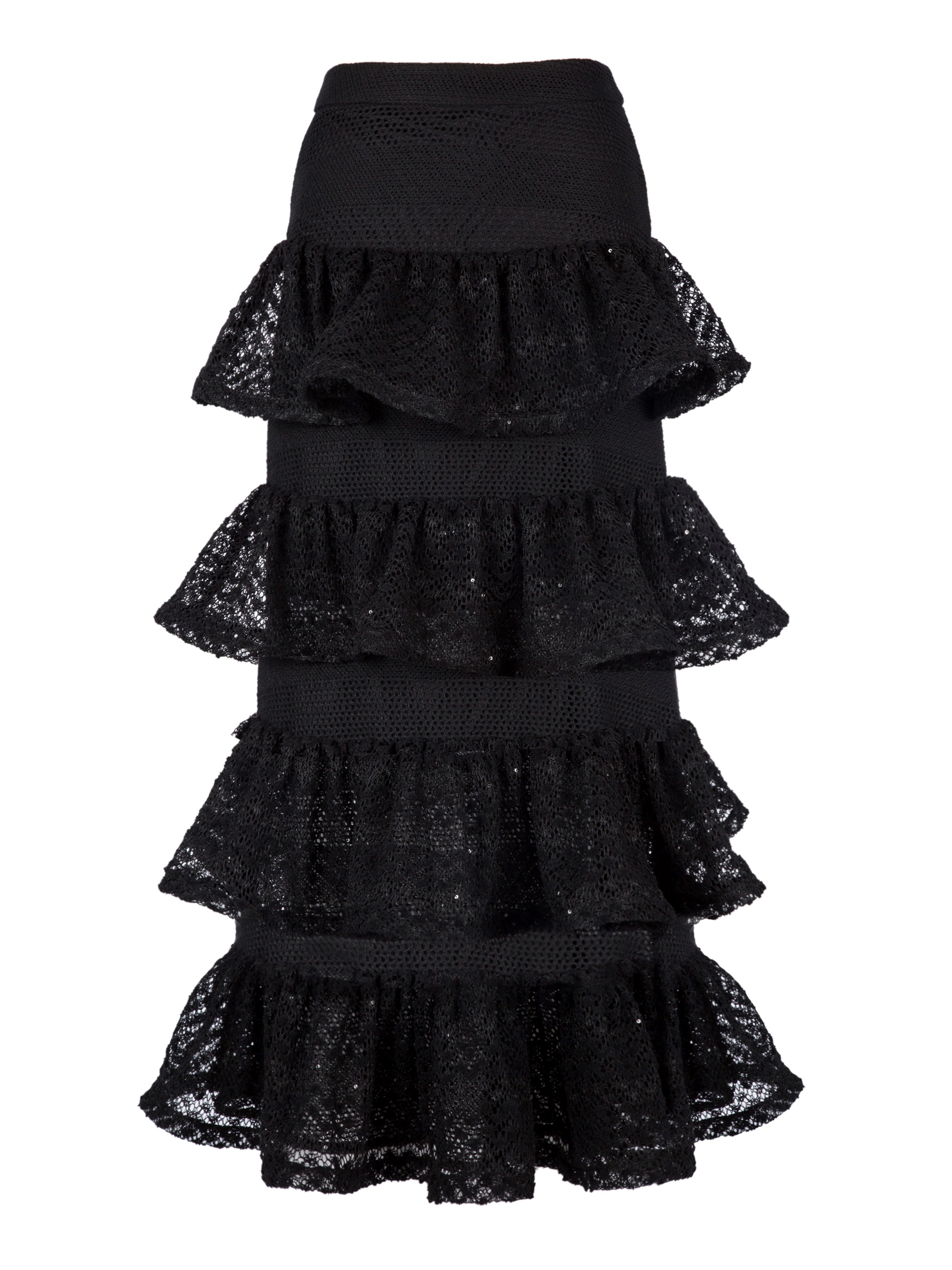 Ericdress A-Line Mid-Calf Wave Cut Women's Skirt