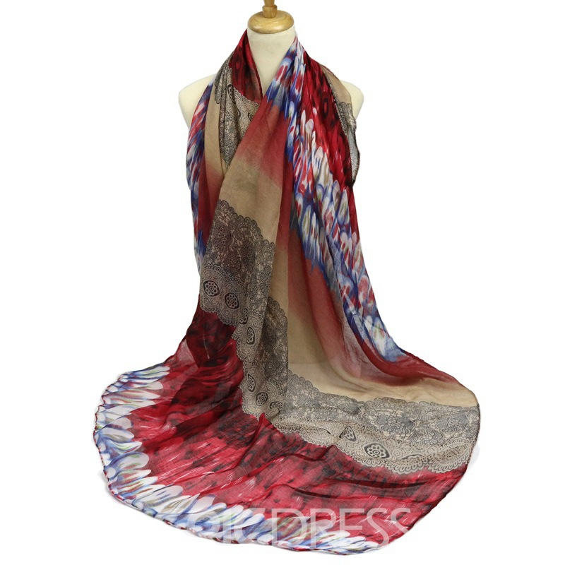 Ericdress Amazing Chinese Element Printed Women's Scarf