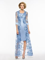 Ericdress Knee Length Mother Of The Bride Dress with Jacket thumbnail