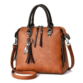 Ericdress Occident Style Tassel Decoration Handbag