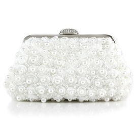 Ericdress Floral Pearl Decoration Evening Clutch