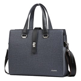 Ericdress Casual Business Zipper Men's Bag
