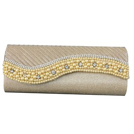 Ericdress Elegant Beads Rhinestone Adornment Evening Clutch