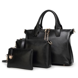 Ericdress Casual Style Solid Color Female Handbag