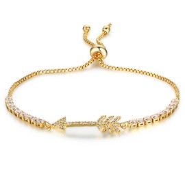 Ericdress Vintage Arrow Adjustable Gold Plating Women's Bracelet