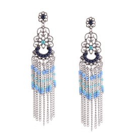 Ericdress Elegant National Tassel Women's Drop Earring